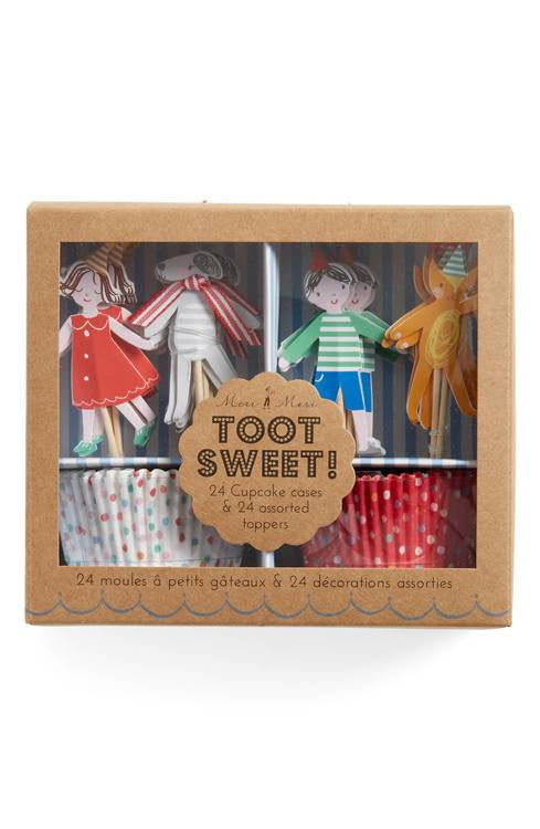 Toot Sweet Children Cupcake Kit - Flowerbake by Angela