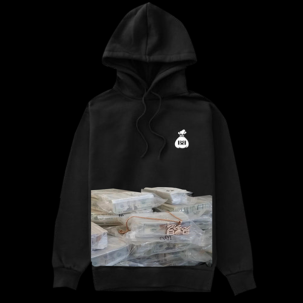 Black Bag Million Dollar Hoodie