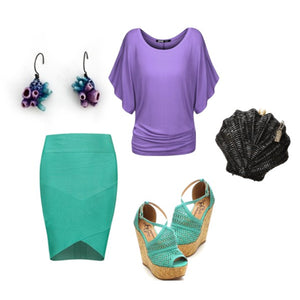 Cute Office Mermaid Halloween Costume Style Guide