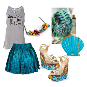 Casual Mermaid Halloween Costume Style Guide