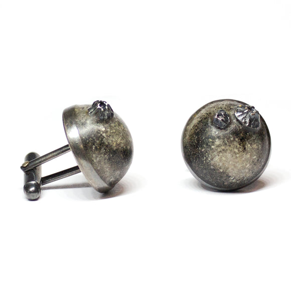High Tide Cufflinks - Swirl
