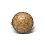 Deserted Island Ring - Golden Sand - Size 9