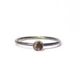 Tiny Stacking Ring - Gravel - Size 8