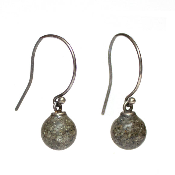 Droplet Earrings - Dark Grey