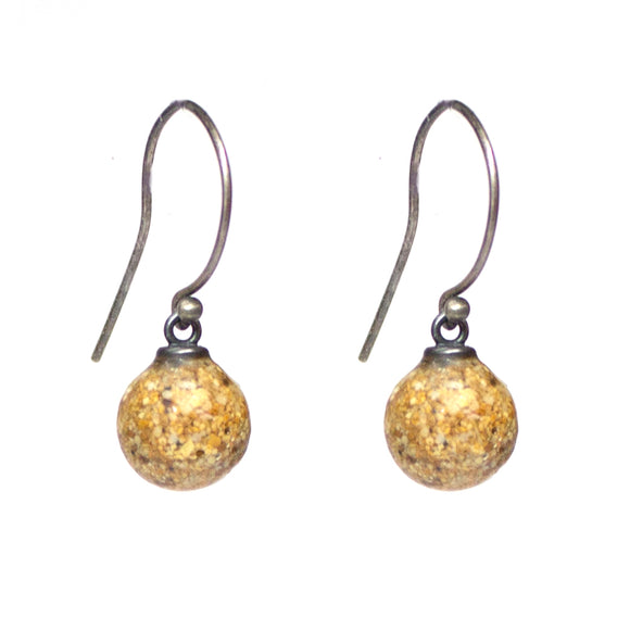 Droplet Earrings - Golden Sand