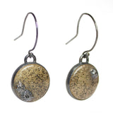 Lagoon Earrings - Speckled Sand