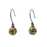 Droplet Earrings - Large Grain