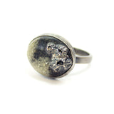 Ring - Black and White Sands - Size 12