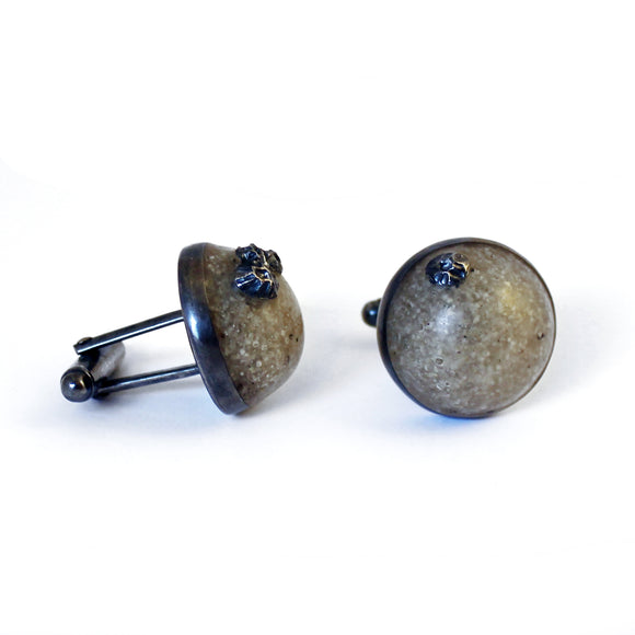High Tide Cufflinks - White