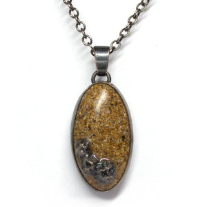 Seashore Pendant - Golden Sand