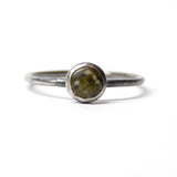 Stacking Ring - Green - Size 8