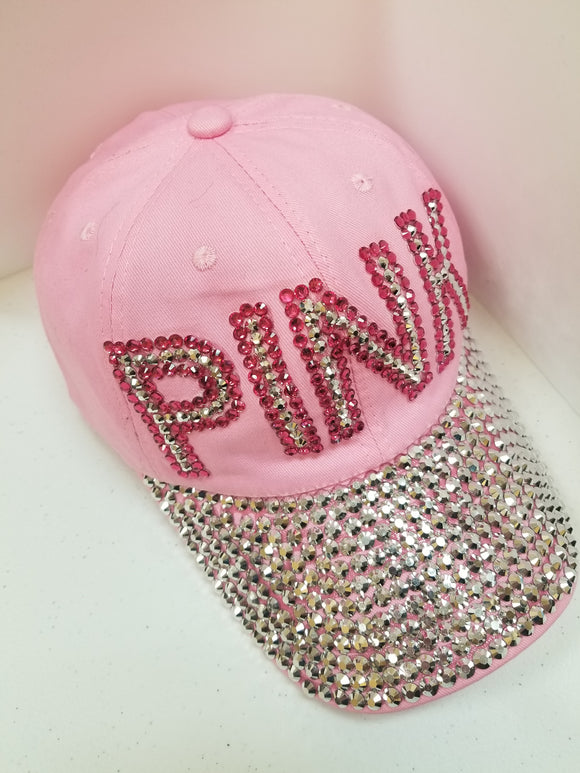 PINK Bling Hat