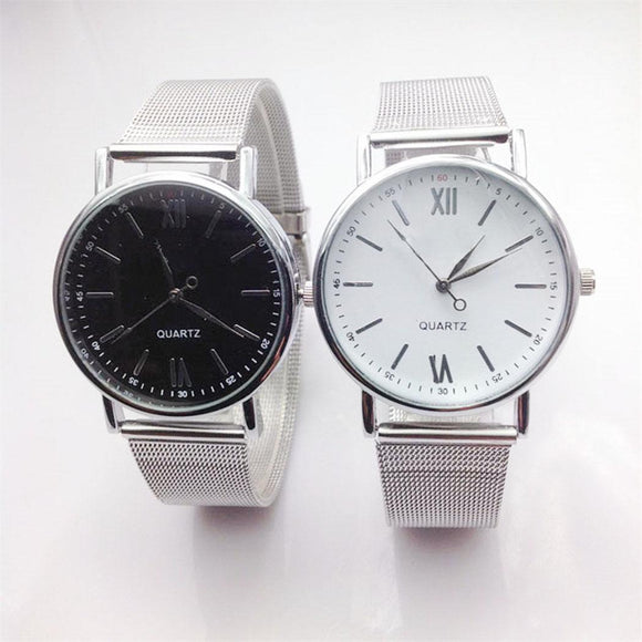 Analog Watch Silver