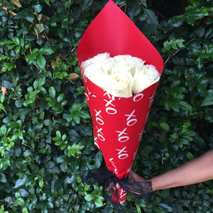 SOLD OUT Red & White Valentine's Bouquet