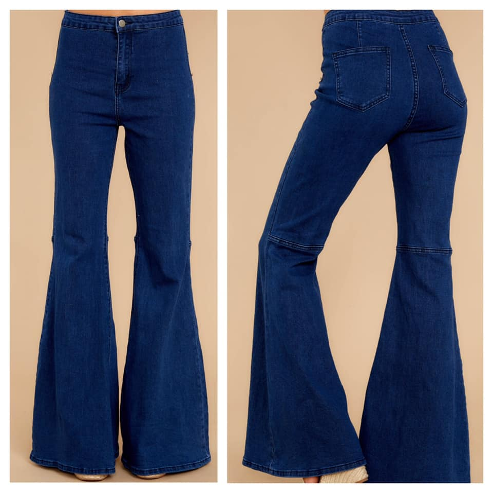 """Ring My Bell Bottom"" Jeans"