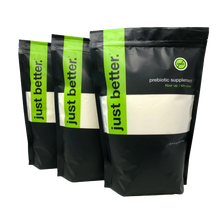 BEST VALUE! 3 Pack - 1200g Stand Up Zipper Pouch - just better.® prebiotic supplement (About 200 servings per pouch)