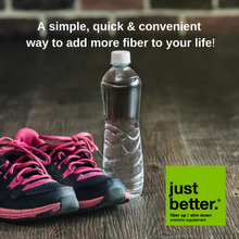 A simple, quick, and convenient way to add more fiber to your life!