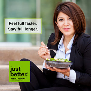 Feel full faster. Stay full longer.