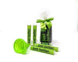 INTRO Fiber Starter Collection: TO GO Tube Kit + 300g EZ Grip Recyclable Container + 300g Refill Pouch