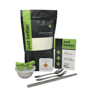 ACCELERATE Weight Loss COMBO: Slow Down Kit + 300g Pouch just better.®️ prebiotic fiber