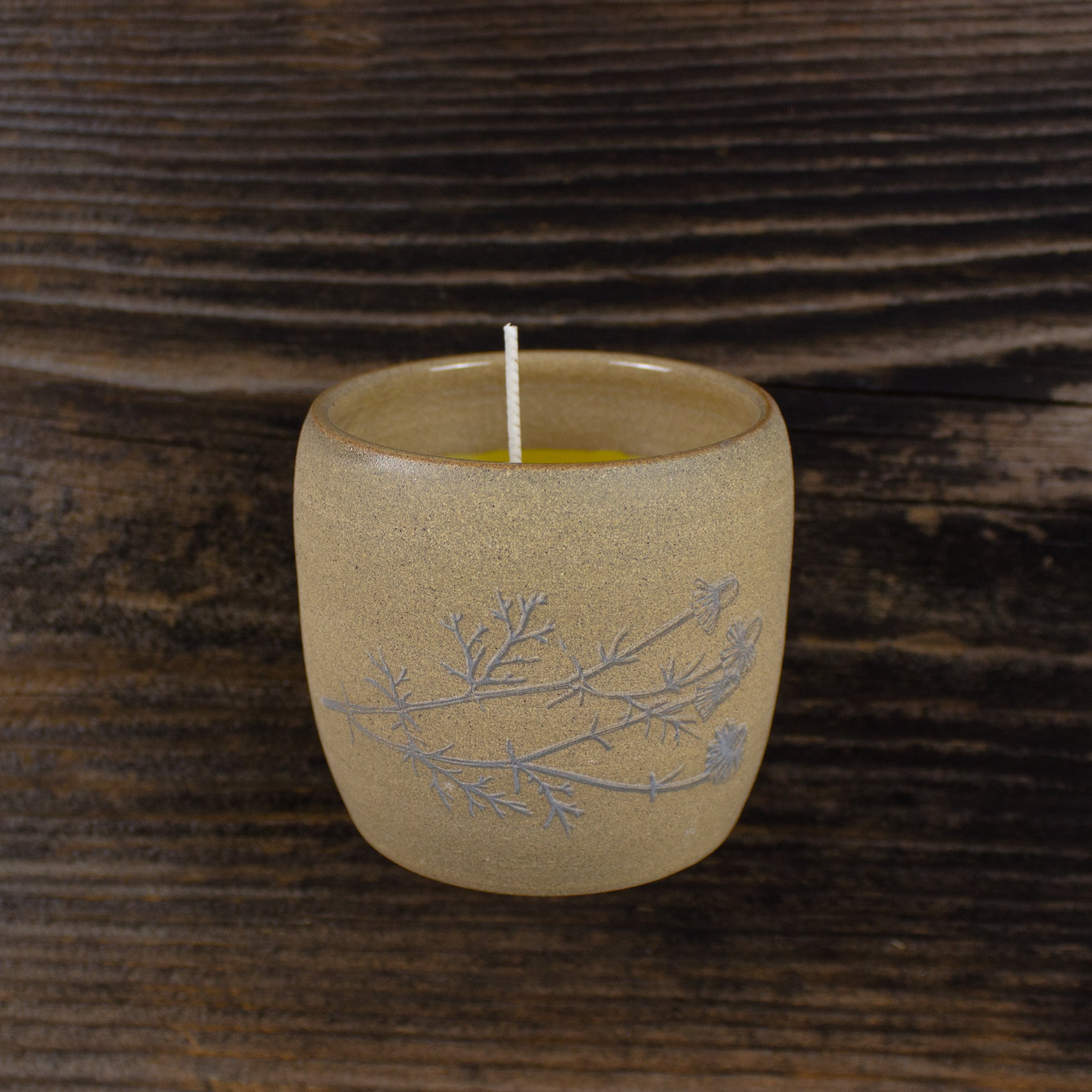 Handcrafted Treasure Candle #1