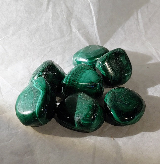 Malachite - tumbled