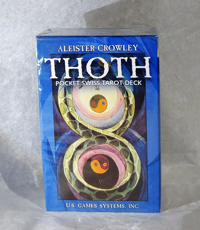 Thoth tarot - pocket sized