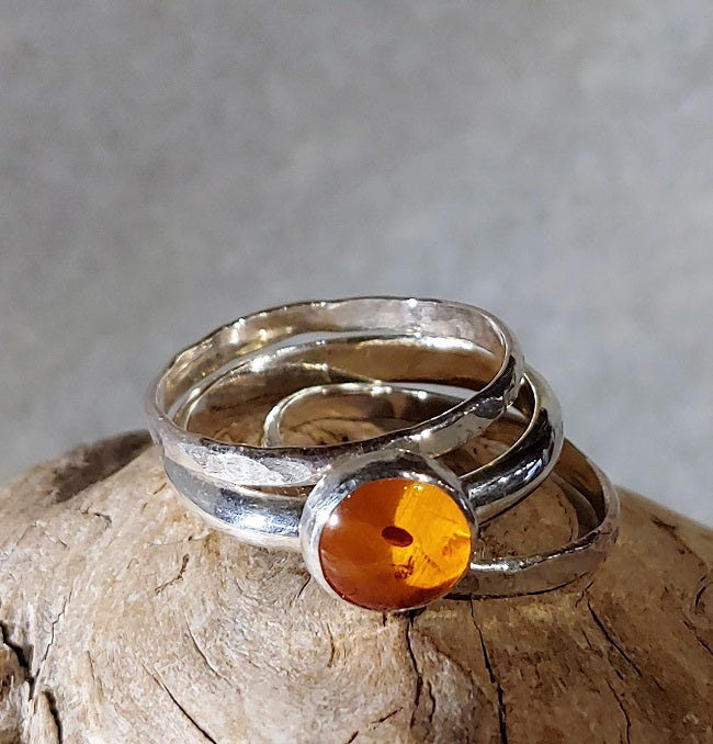 3-band stacking set - Amber