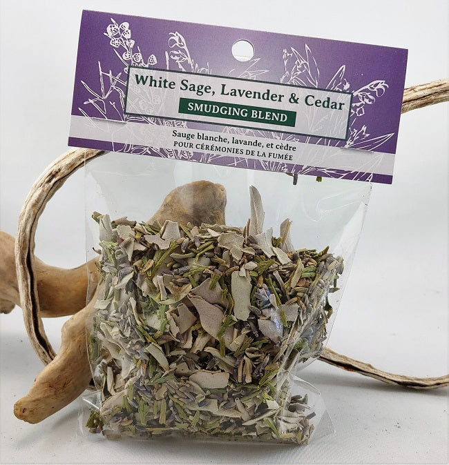 White Sage, Lavender and Cedar blend - loose