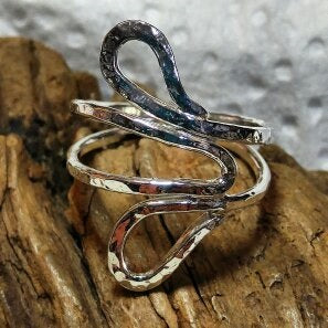 Swirly Sterling Ring