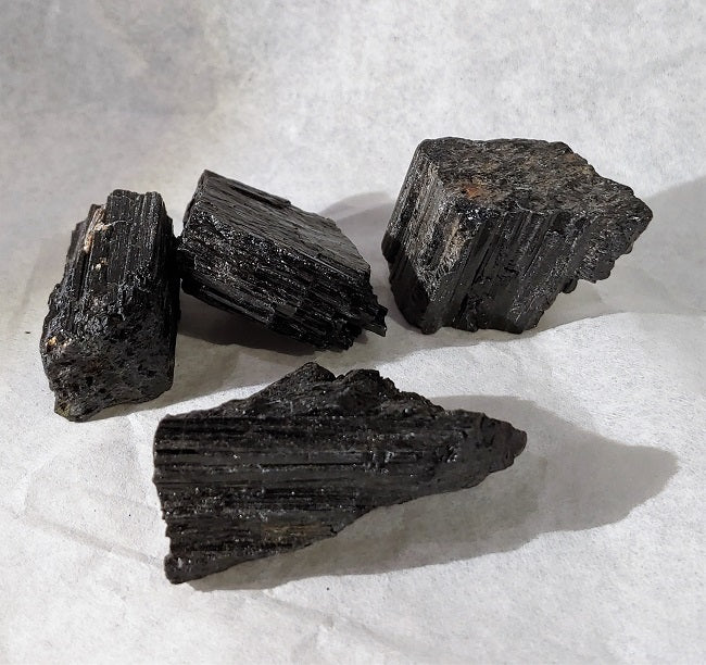 Black Tourmaline - raw