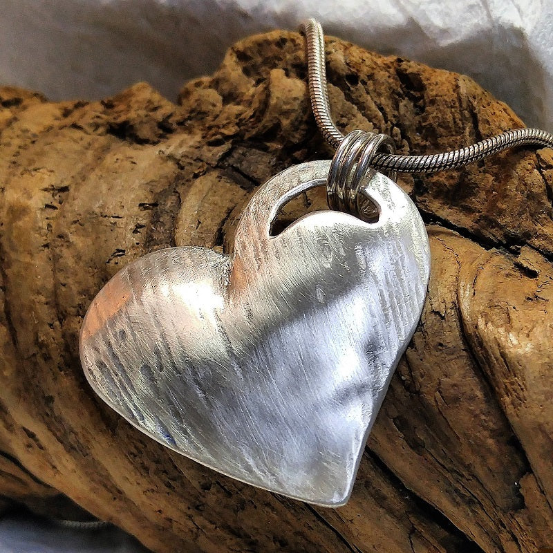 Raised Heart Pendant