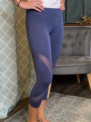 Zinnia Denim Blue Legging