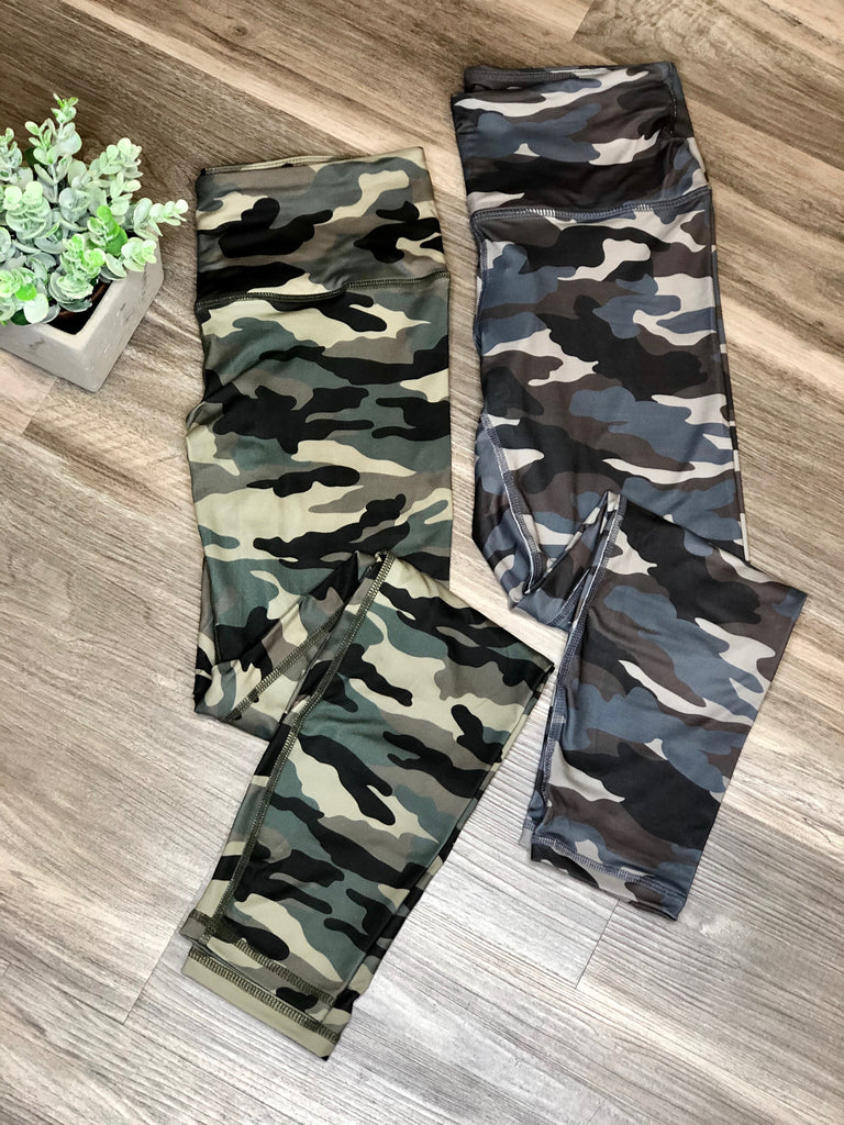 Hunting in Style Camo Leggings