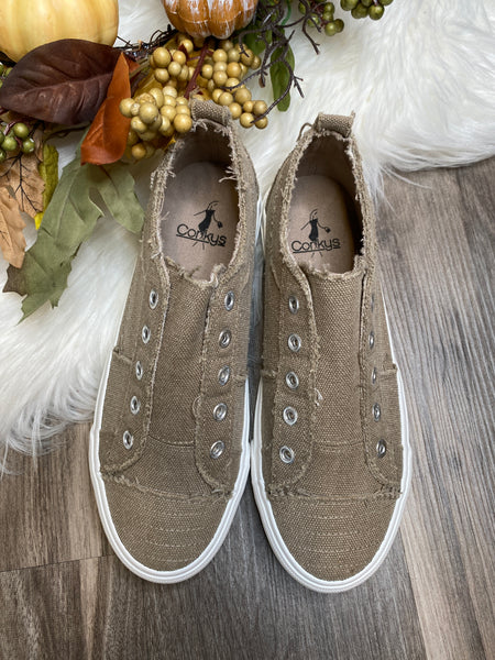 Corky's Babalu Sneaker in Taupe