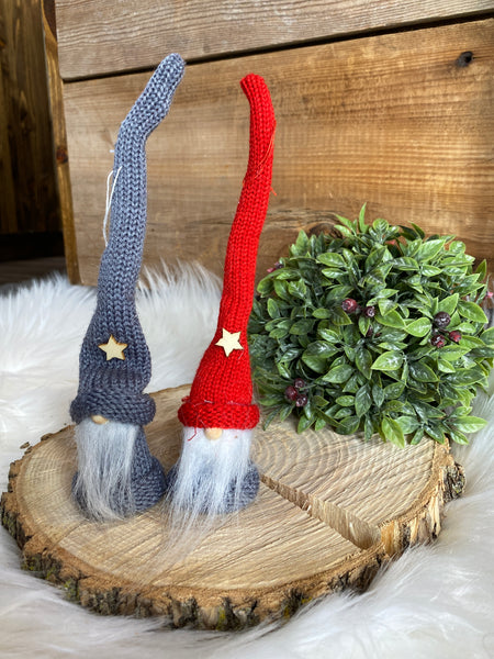 Atz and Otto Ornament Gnomes
