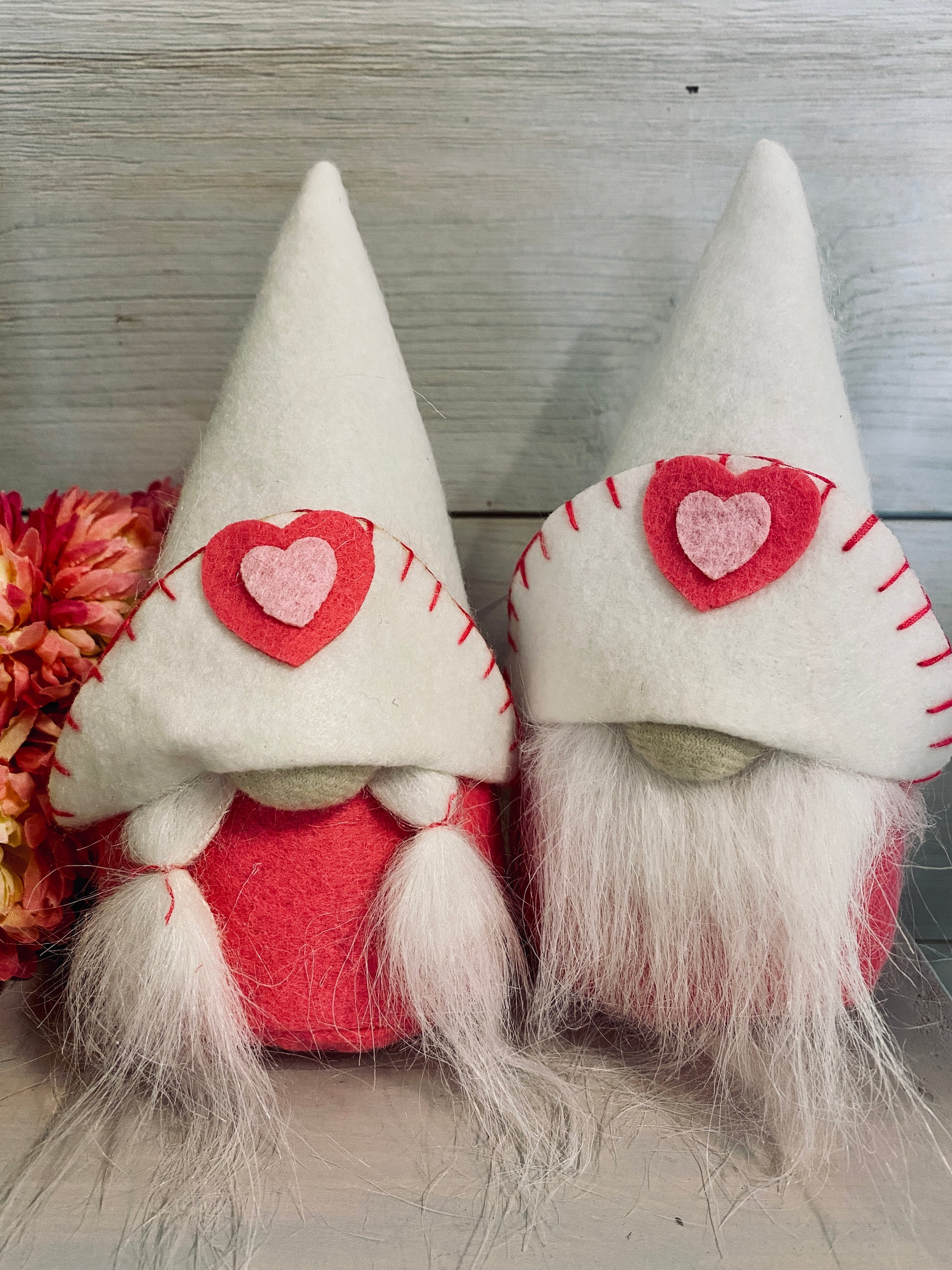 Val and Tiny Valentine Gnomes