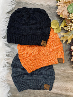 CC Criss Cross Pony Beanie