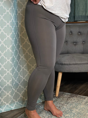 Carly Charcoal Legging