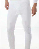 Fleece-Lined Thermal Underwear (Set of 1 top and 1 bottom)