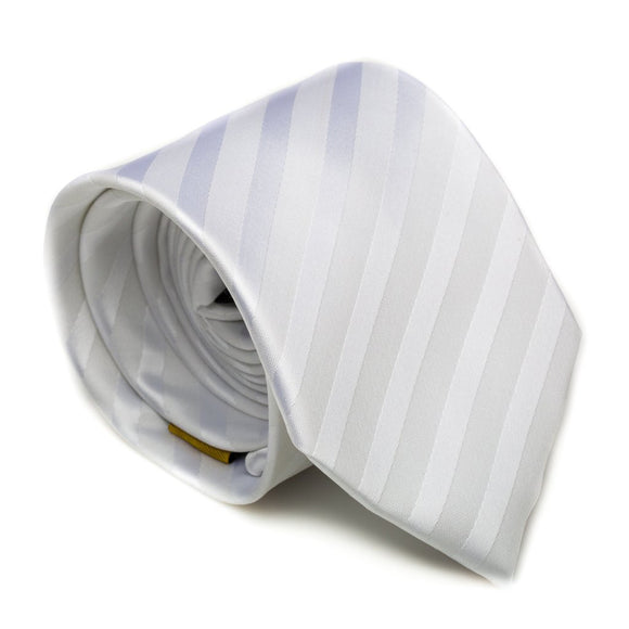 White Washable Baptismal / Temple Tie