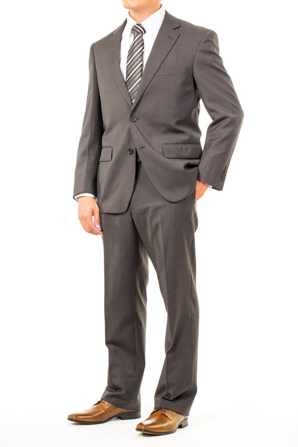 CTR Clothing Wool Blend Two-Pant Suit