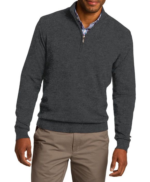 Tempo Quarter-Zip Sweater
