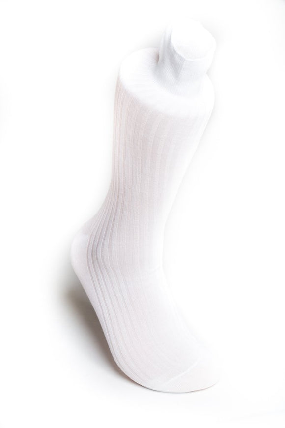 White Baptismal / Temple Sock