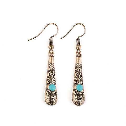 Cowgirl Tribal Drop Earrings - Cowgirl Vibes