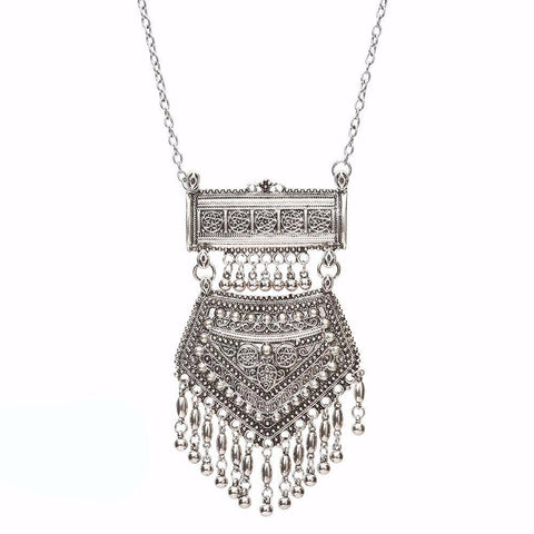 Cowgirl Fringe Necklace (Silver or Gold) - Cowgirl Vibes