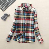 Canyon Long-Sleeve Plaid Shirt - Cowgirl Vibes