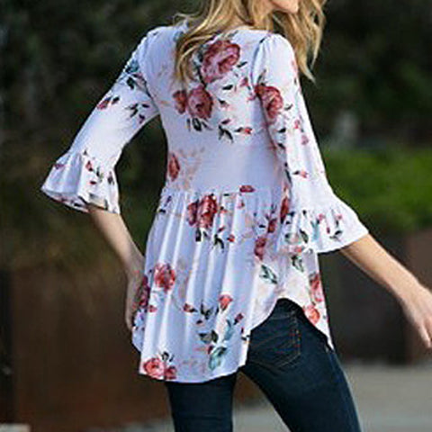 Country Girl Floral Top - Cowgirl Vibes