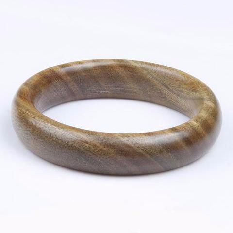 Natural Sandalwood Bangle - Cowgirl Vibes