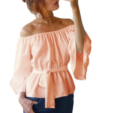 Country Girl Flare Sleeve Top